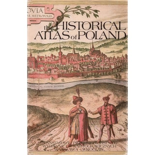 """1967 """"The Historical Atlas of Poland"""" Coffee Table Book For Sale"""