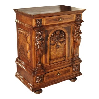 19th Century French Parquetry Buffet For Sale