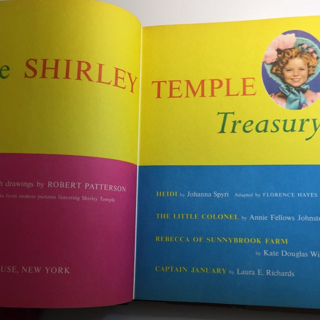 "1959 ""The Shirley Temple Treasury"" Book For Sale - Image 4 of 11"