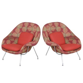 Knoll Eero Saarinen Small Womb Chairs - A Pair