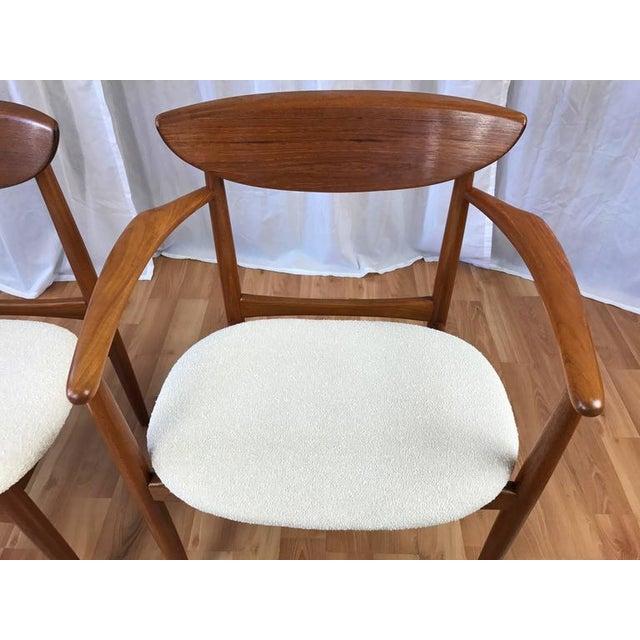Set of 7 Uncommon Hvidt and Mølgaard-Nielsen Teak Dining Chairs for Søborg Møbelfabrik - Image 10 of 10