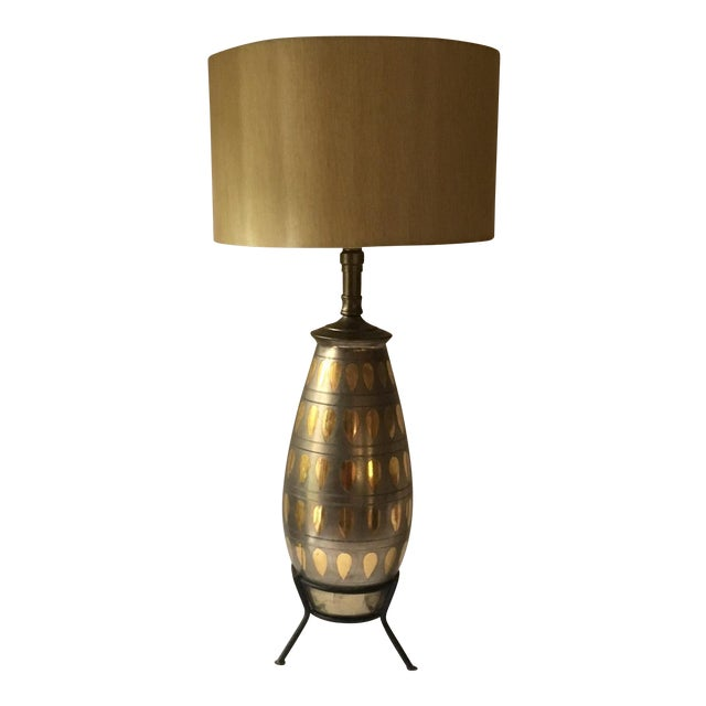 Mid-Century Atomic Table Lamp For Sale