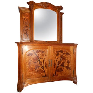 Louis-Maurice-Alphonse Herold Marquetry Collector's Cabinet For Sale