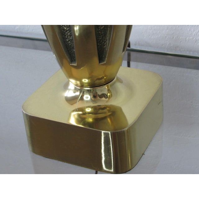 Tony Paul Midcentury Brass Lamps - a Pair For Sale In Phoenix - Image 6 of 8