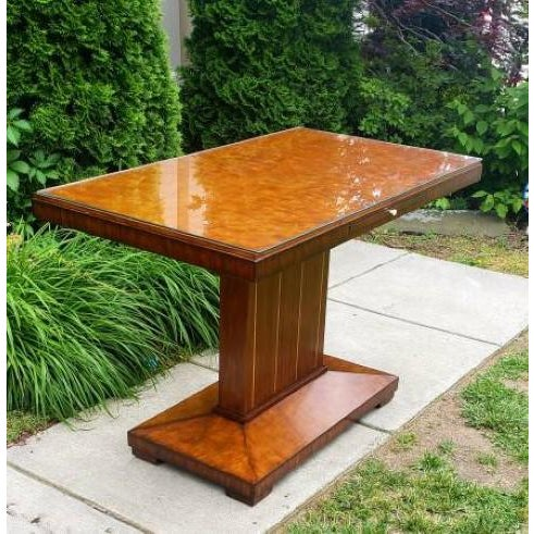 Art Deco Maitland Smith Foyer Table For Sale In Washington DC - Image 6 of 6