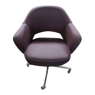 Vintage Original Knoll Saarinen Executive Armchair For Sale