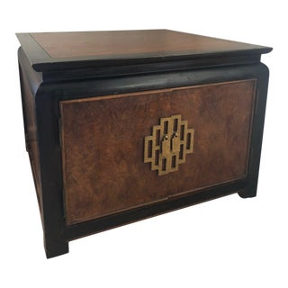 1970s Asian Modern Century Storage Table For Sale