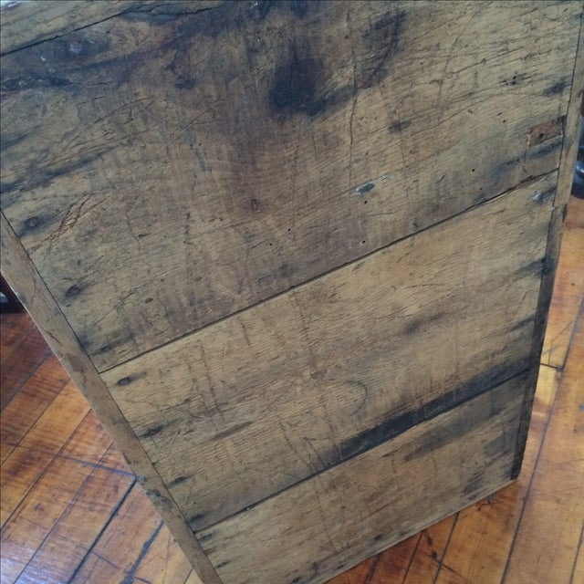 Rustic Pine Wood Sea Chest - Image 7 of 11