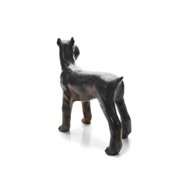 1920s Bronze Scottie Dog Sculpture For Sale In Los Angeles - Image 6 of 9