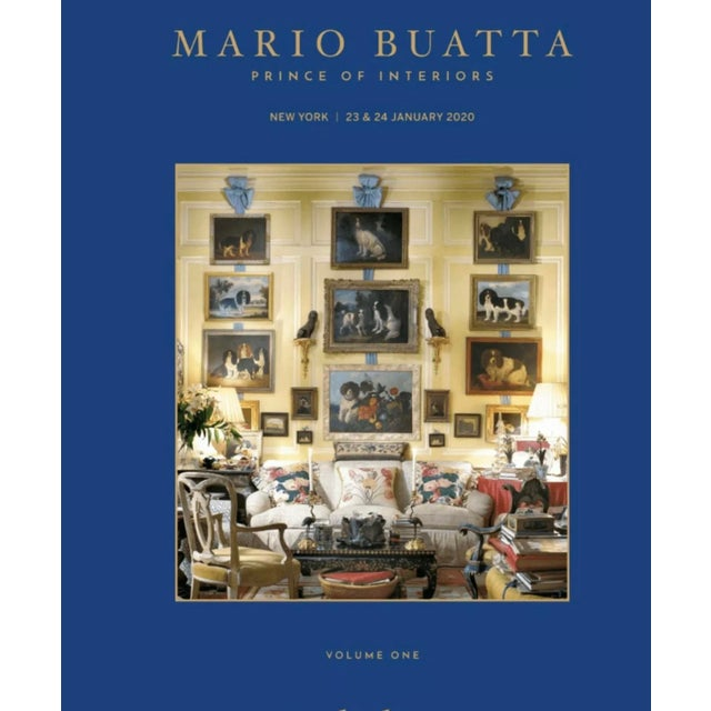 Sotheby's Preferred Auction Catalogue 2020 January Mario Buatta 2 Volumes For Sale