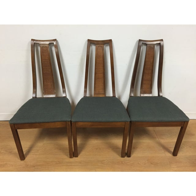Dining Chair Sets Of 6: Mid-Century Cane Back Dining Chairs - Set Of 6