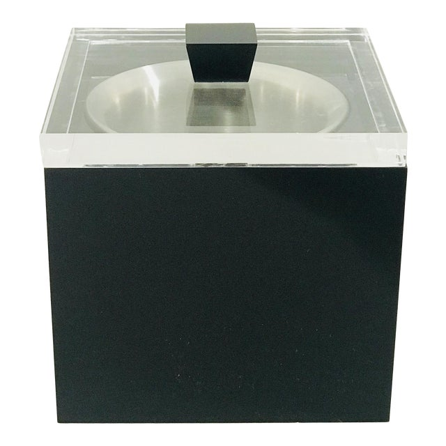 Albrizzi Lucite Ice-Bucket For Sale