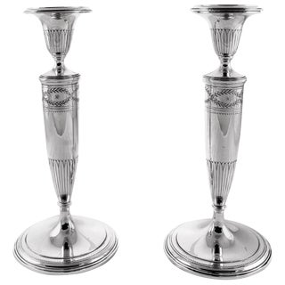 Tiffany Sterling Candlesticks For Sale