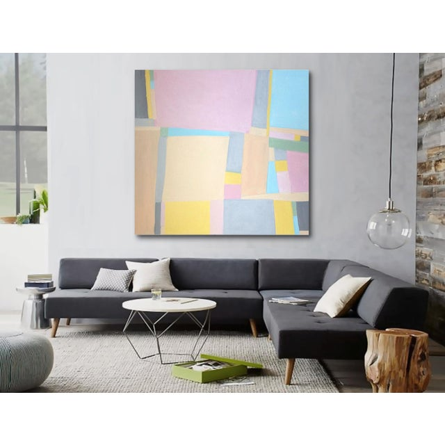 'Jane Says' Original Abstract Painting by Linnea Heide For Sale - Image 4 of 8