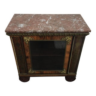 Antique Marble Top French Console