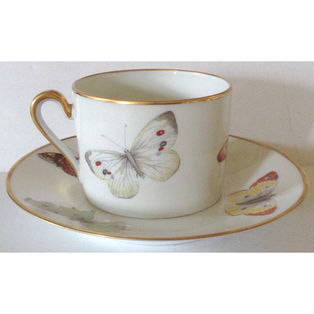 Limoges Cup and Saucer - Image 3 of 5