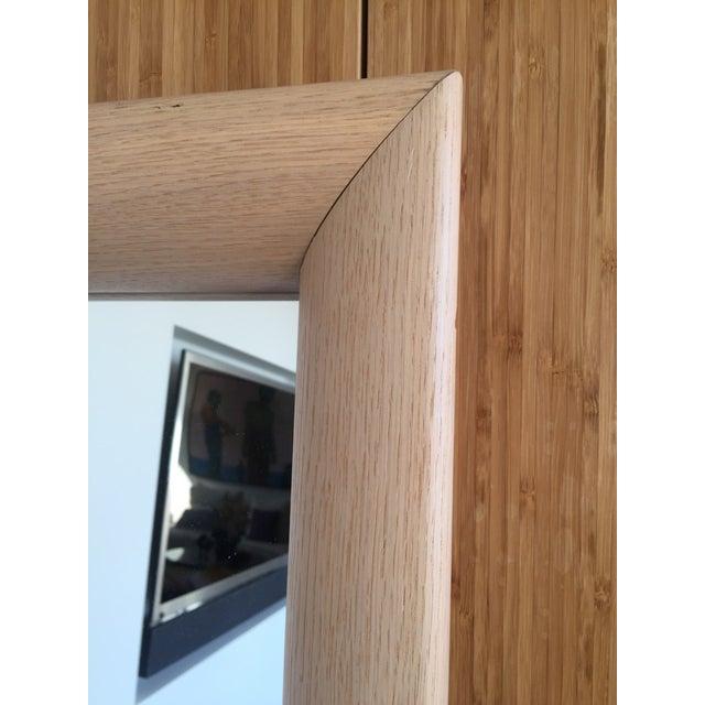 Ligne Roset Floor Standing Oak Frame Mirror - Image 4 of 9