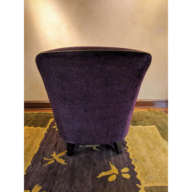 """Art Deco 1980s Donghia """"Shell"""" Chair For Sale - Image 3 of 10"""