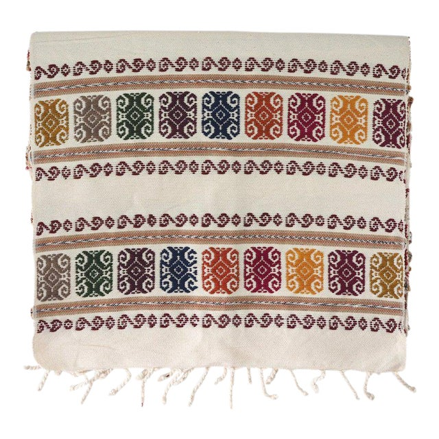 San Miguel Embroidered Table Runner For Sale