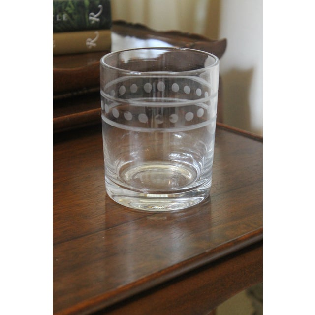 Global Views Double Old Fashion Glasses - Set of 6 For Sale In New Orleans - Image 6 of 7