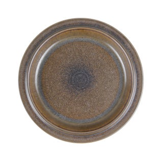 Arabia Finland Ruska Chop Plate Platter Ulla Procope Brown Ceramic Scandinavian For Sale