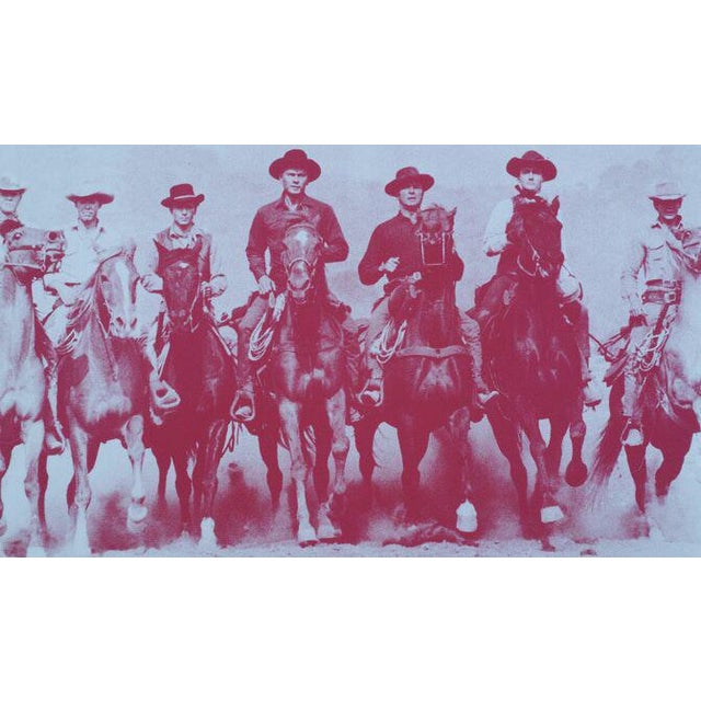 Magnificent 7, screen print by Russell Young - Image 2 of 3