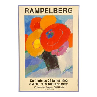 1992 French Art Exhibition Poster For Sale