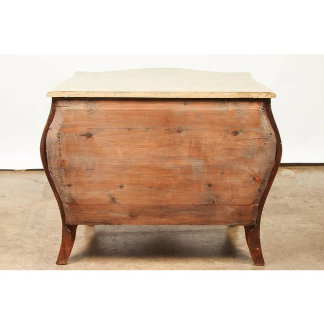 Swedish Roccoo Style Chest of Drawers For Sale - Image 9 of 9