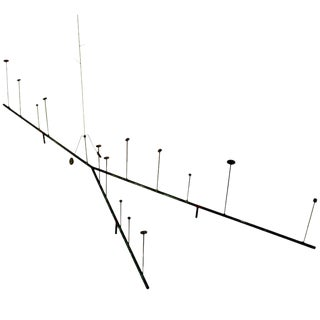 Early Kinetic Sculpture by Harry Bertoia, 1950s For Sale