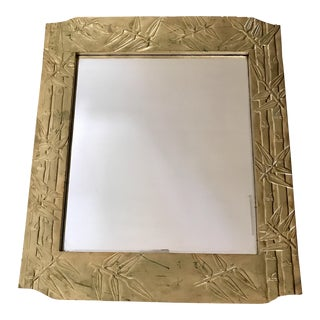 Vintage Bamboo Design Wall Mirror