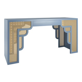 Habanera Console Table - Summer Mist Blue For Sale