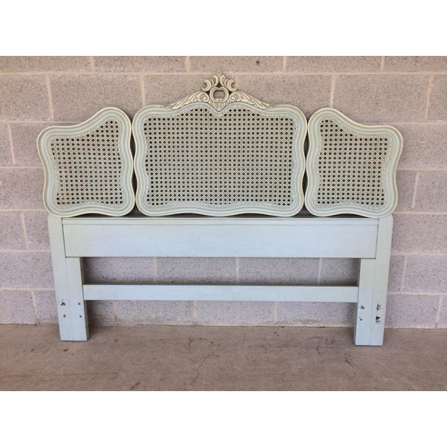 Hickory White French Provincial Queen/ Double Headboard - Image 2 of 8