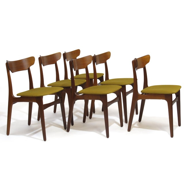 Schionning Elgaard Danish Teak Dining Chairs 20 Available Image 2 Of 11
