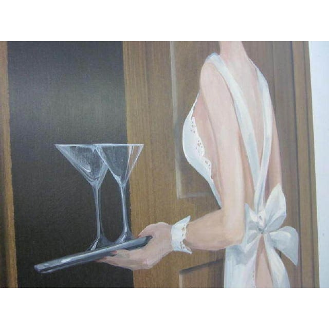 Large Painting of a Woman by Lee Ames For Sale In New York - Image 6 of 9