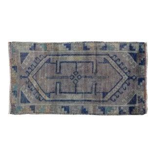 "Early 20th Century Turkish Handmade Carpet/Rug, 1'9"" X 3'4"" For Sale"