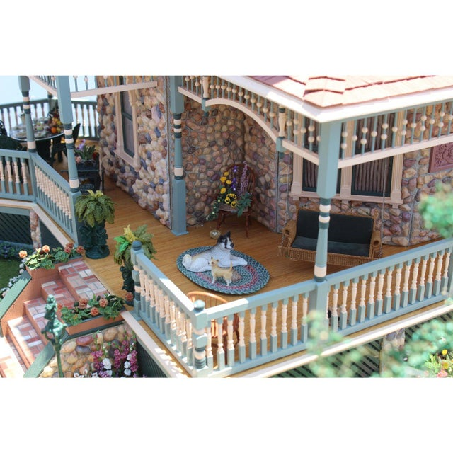 Massive 7 Foot With Case Doll House From the Heritage Museum l.a on S. Calif. Architecture For Sale In San Diego - Image 6 of 11