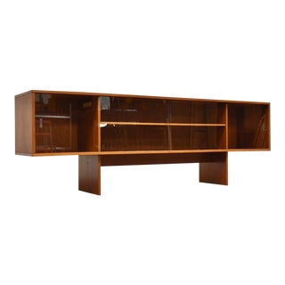Teak Løvig Danish Bookcase Credenza For Sale