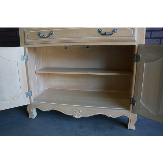 Tan Country French Ethan Allen Server For Sale - Image 8 of 10