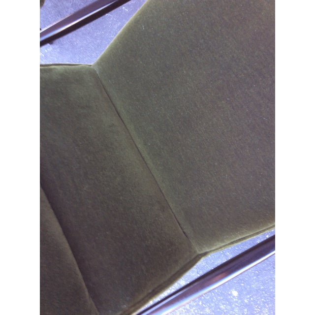 1950s Mid-Century Mohair Side Chairs- A Pair For Sale - Image 5 of 7