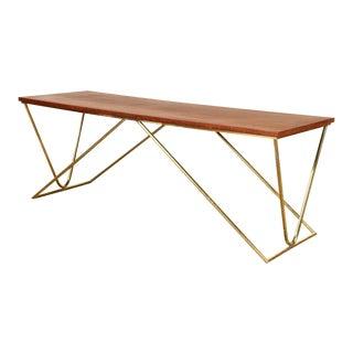 Vintage 1970s Modernist Italian Coffee Table For Sale