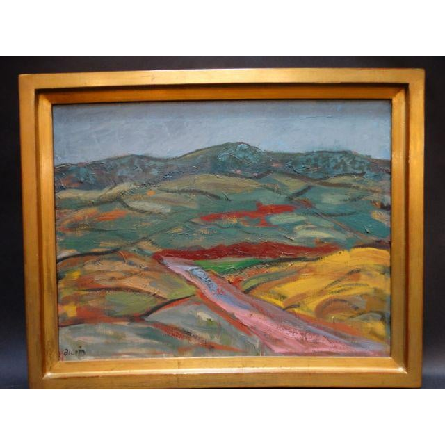 Anders Aldrin: Salinas Valley, Oil on Board - Image 2 of 7
