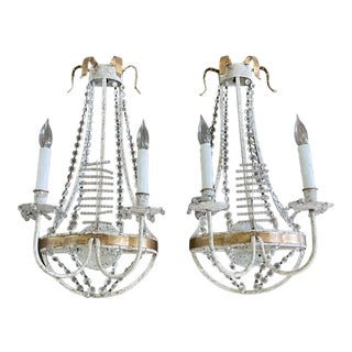 Pair of David Iatesta Annecy Sconces For Sale