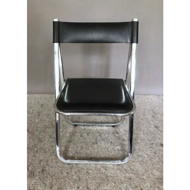 """Arrben """"Tamara"""" Folding Chairs - Set of 6 For Sale In New York - Image 6 of 11"""