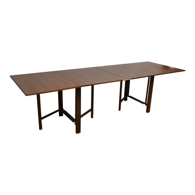 Bruno Mathsson Style Maria Dining Table For Sale