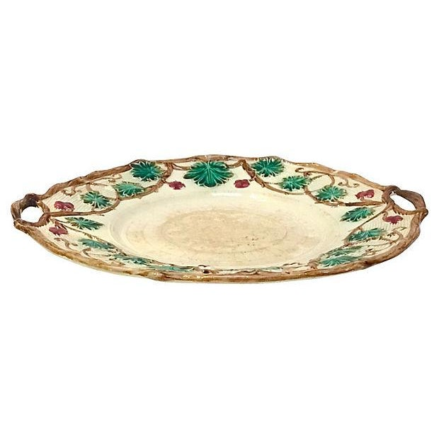 Antique Majolica French Green Tureen For Sale - Image 10 of 11