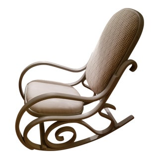 Distressed Thonet Style Bentwood Rocker