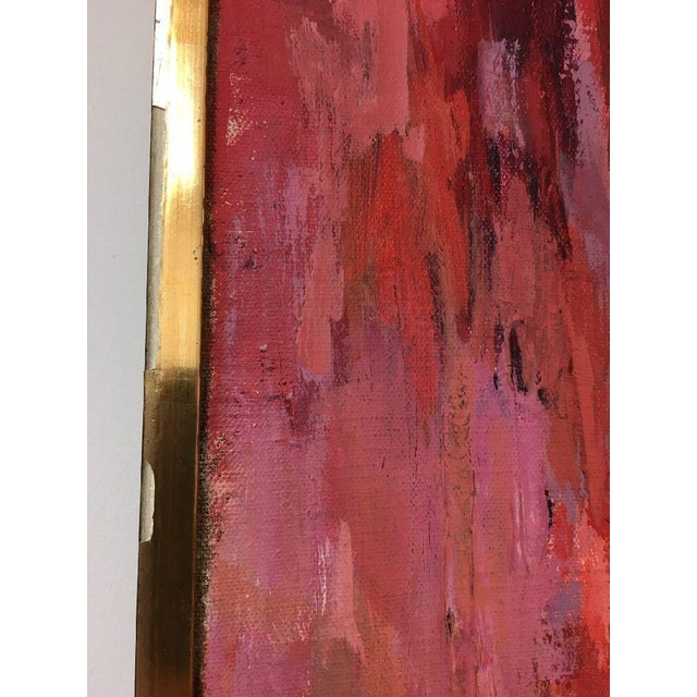 BT Wohl Mid-Century Abstract Oil Painting 1966 - Image 4 of 11