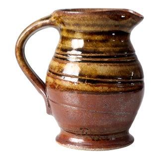 Vintage Studio Pottery Creamer Pitcher For Sale