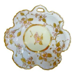Antique Nippon Moriage Porcelain Japanese Bowl