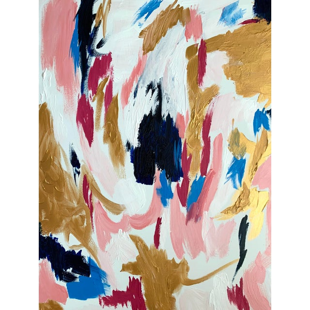Abstract Ebony Boyd Contemporary Abstract Painting For Sale - Image 3 of 7